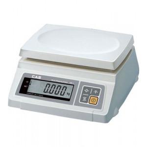Настольные весы CAS SW-1/5кг (один дисплей) 239х190