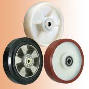 Рулевые колеса для ручных и гидравлических тележек (рохлей)