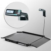 Весы платформенные МАССА-К из конструкционной стали 1000х1000мм 4D-LA-2-1000-RL