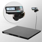 Весы платформенные МАССА-К из конструкционной стали 1000х1000мм 4D-PM-1-1000-RP