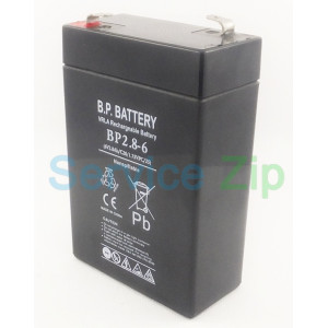 Аккумулятор BP2.8-6 (6V2.8Ah/C20/1.75VPC/25) B.P. BATTERY