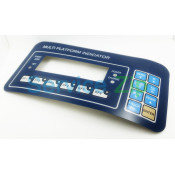 Наклейка клавиатуры CAS RW-P