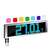 Дублирующее весовое табло ТОКВЕС DS-500